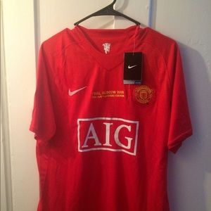 392e04e1930 Nike Other - Manchester United 2008 UCL Final Ronaldo  7 Jersey